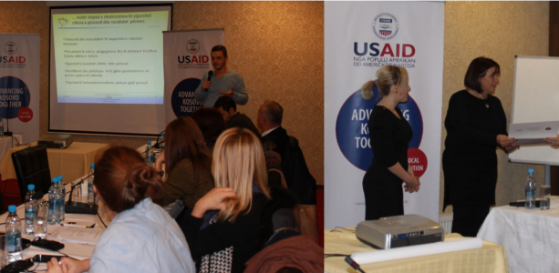USAID AKT LS supports Municipal Development through Training of Trainers for Municipal Officials