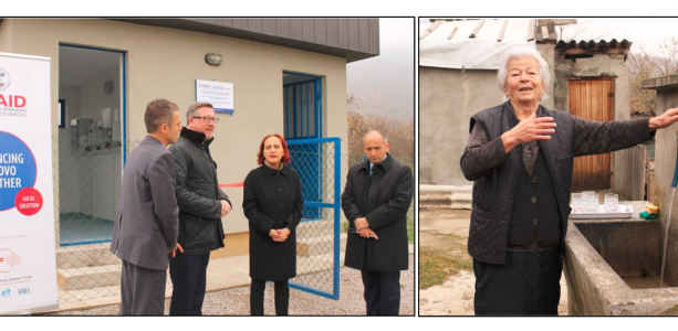 USAID AKT LS supports the community of Belo Polje/Bellopojë with the rehabilitation and extension of the water supply system